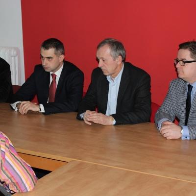 Konferencja z Sekretarzem Generalnym SLD